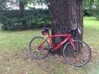 "B'Twin Triban road bike. Very good condition. 28"". 606 Aluminium frame"