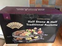 Half Stone & Half Raclette BBG Grill