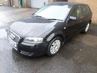 Audi A3 Special Edition, 1.6 Petrol, Black 5 Door, Only 73k miles,12 Mths MOT, Bargain @ only £2,750