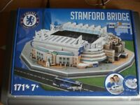 Large 3D Scale Model of Stamford Bridge Chelsea Football Ground New Unopened