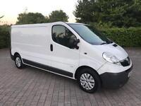 2008 Vauxhall Vivaro 2.0 CDTI 2900 LWB Van 4 SEATS, FULL S HISTORY, NO VAT (Renault Trafic Traffic)