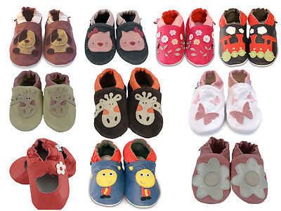 Soft Baby Shoes by Moo Baby Shoes £7.99 - Buy 2 pairs & get a 3rd pair FREE