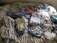 Baby boy bundle 0-3m