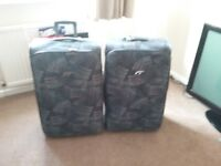 2 large suitcases for sale