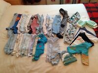 Large Baby boy bundle, 0-3 Months, high street & designer