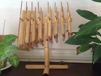 Bamboo Angklung Percussion Gamelan Indonesian Musical instrument