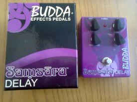 Budda Samsara delay pedal