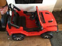 Kids jeep ride on £150 ono