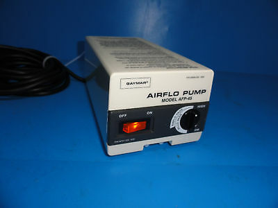 Gaymar Afp-45 Airflo Pump Alternating Pressure Relief 2550-53