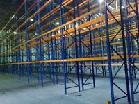 job lot 100 bays redirack pallet racking AS NEW( storage , shelving )