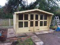 12x8 tanalized t&g summer house