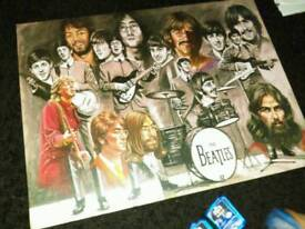 The Beatles canvas