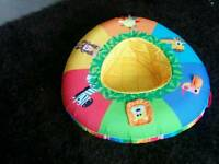 Baby sit up ring inflatable