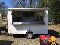 "10ft x 6ft 6"" Wilkinson Catering Trailer For Sale"
