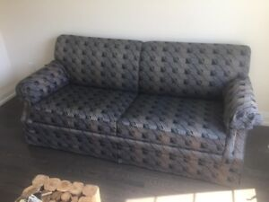 Convertible sofa bed in like new condition. Firm support