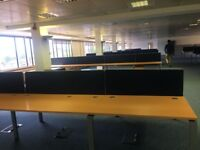 OFFICE FURNITURE CLEARANCE OFFICE BENCH DESKING