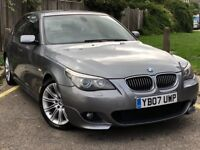 Bmw 525d m sport face lift model auto-tip lci fully loaded sat nav leathers good con in and out