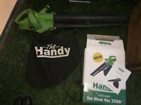 THE HANDY BLOW ECO LEAF VACUUM GARDENING GARDEN VAC COLLECTOR