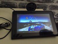 7 inch sat nav camera tablet