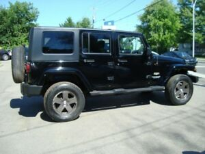 2008 Jeep Wrangler SAHARA UNLIMITED  TRAIL RATED 4X4