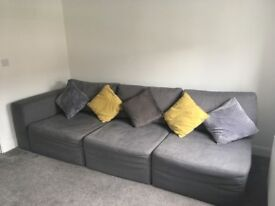 Large corner sofa - need quick sale!