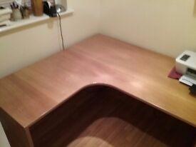 Home office desk corner shape 1500x1500 quality item