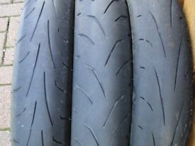 MOTORCYCLE FRONT TYRES