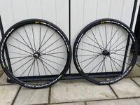 Genuine Mavic Ksyrium Elite UST DISC Wheel Set (Front & Rear)