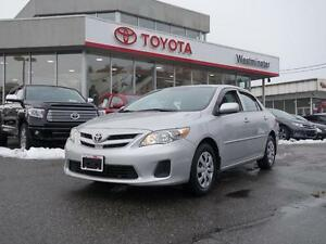 2013 Toyota Corolla CE Moon Roof Package