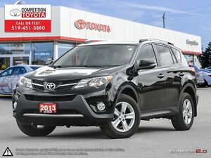 2013 Toyota RAV4 XLE Toyota Certified, One Owner, No Accident...