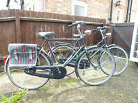 2 Dutch Bikes