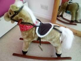 KIDS TODDLERS ROCKING HORSE