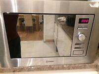 Brand new Indesit integrated microwave 800w