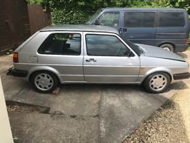 VW MK2 Golf small bumper 1.8v 8V
