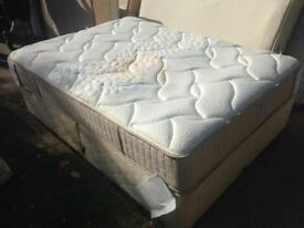 Kingsize bed with luxury mattress
