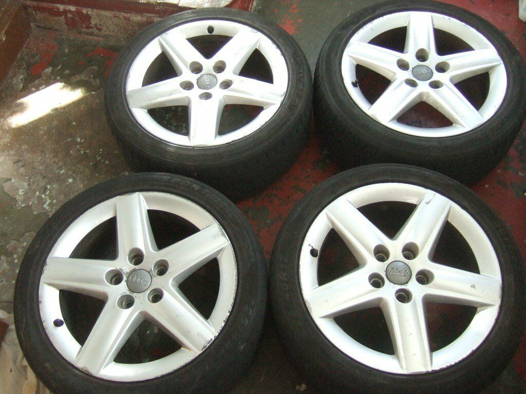 "17"" Genuine Audi A3 Alloy Wheels. Volkswagen Golf"