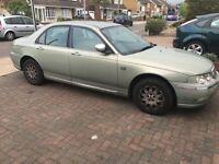 2003 ROVER 75 1.8 CONNOISSEUR PETROL AUTO GREEN BREAKING FOR SPARES AND REPAIRS