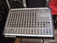 carlesbro pmx 12 - 2 mixing desk