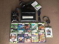 Microsoft Xbox 360 120GB (UK) Kinect 11GAMES 2PADS REMOTE HEADSET