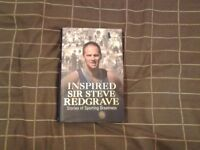 Hardback Book. SIR STEVE REDGRAVE - INSPIRED.
