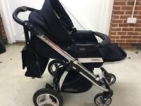 pushchair and car chair duo