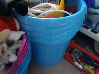 Toy Box / Tub Blue