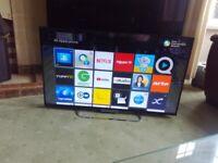 SONY 42 LED TV (KDL-42W653) SMART/WIFI/MEDIA PLAYER/FREEVIEW HD/200HZ/SLIM DESIGN