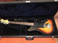 Fender Jazzmaster Blacktop Electric Guitar