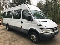 IVECO DAILY 45C13 LWB minibus 2005/05 1 owner 96K in white