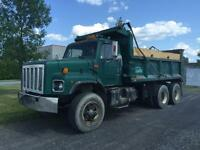 Camion 10 roues international 1991