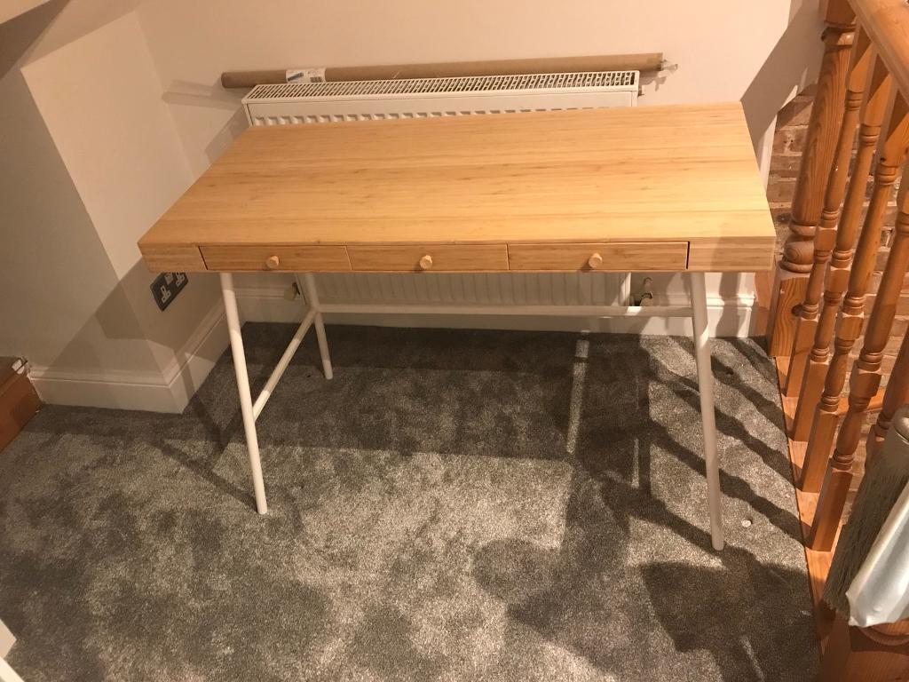 Ikea desk lillasen in gants hill london gumtree