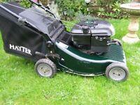 Hayter Ranger petrol lawn mower