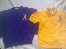Uniform for Crossens Nursery Jumper and Polo shirt with nursery logo