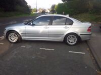 BMW 318i SE 2003 M EXTRAS 16 INCH ALLOYS PRIVACYGLASS SPOILER 9 SERVICE STAMPS 10 MNT MOT 850 NO OFR